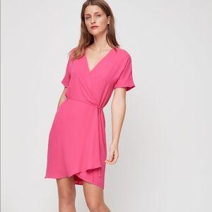 Aritzia Babaton Wallace Wrap Dress
